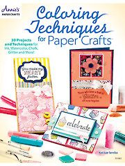 Card Paper Crafts - Coloring Techniques for Paper Crafts - #701062