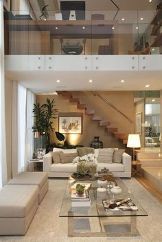 House Interior Design Ideas - Inspirational Interior Decoration Suggestions for Living Area Style, Bed Room Design, Cooking Area Design as well as the whole home. Modern Interior Design, Interior Architecture, Modern Interiors, Cool Apartments, Apartment Design, Style At Home, Home Fashion, Fashion Moda, Living Room Designs