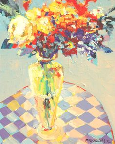 Bob Burridge's lovely florals