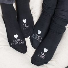 Personalised Socks Sets - Kick Out Of You, Anniversary   GettingPersonal.co.uk