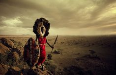 Masai -  Powerful Portraits of Secluded Cultures on the Brink of Extinction - My Modern Metropolis