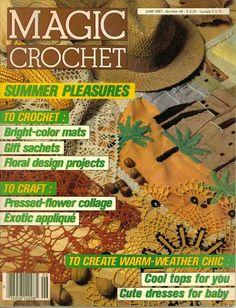 Crochet esquema: Una linda revista para descargar gratis