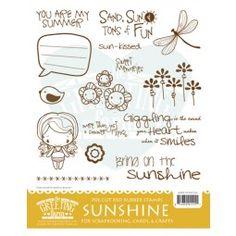 the greeting farm stamps - sunshine kit