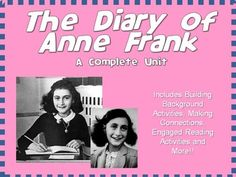 The Diary of Anne Frank is a wonderful piece of drama that contains important themes and elements that all students should be exposed to during their school years (not to mention it is one of the exemplar Common Core texts for middle school students).