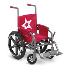 Berry Wheelchair for Dolls | myagaccesspets | American Girl