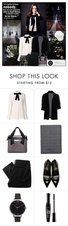 """""""It's better to have nobody, than to have someone who is half there, or doesn't want to be there."""" by kittyfantastica ❤ liked on Polyvore featuring Linea, Alexander McQueen, Winter Kate, Alejandro Ingelmo, Marc by Marc Jacobs, Vivienne Westwood Red Label, Yves Saint Laurent, Olivia Burton, Bourjois and Seletti"""