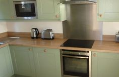 Splashback tiles tiles for kitchen and aga on pinterest - Splashback alternatives ...