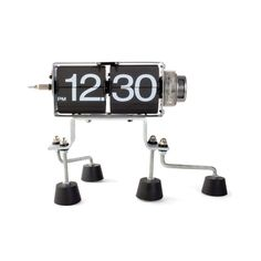 """Walking Robot Clock 