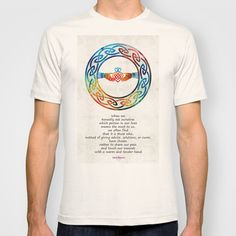 Love And Friendship Art by Sharon Cummings T-shirt by Sharon Cummings
