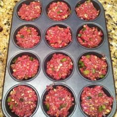 Make meatloaf in cupcake pan!! Cooks so much quicker :)