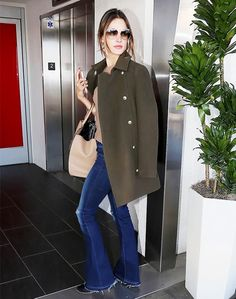 9 Celebrity Airport Outfits You Can Recreate for Under $100 via @WhoWhatWear