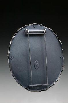 "Pin mechanism - Diane Falkenhagen. ""Dalliance;"" Fabricated Brooch; 2009"