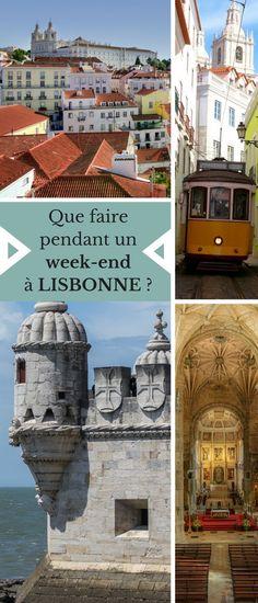 Que faire en un week-end à Lisbonne, au Portugal ? Quels sont les plus beaux sites à ne pas manquer ? On vous dit tout. #Portugal #Lisbonne #Voyage