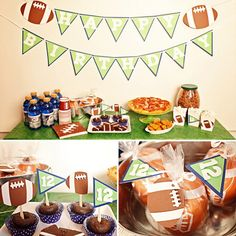 Image Detail for - Football Themed Birthday Party Ideas For Boys Photo 3