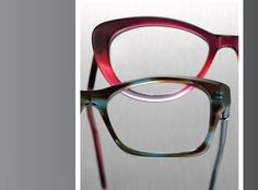 From top: SANFORD HUTTON Millie C970 from Colors in Optics; ROBERT MARC 289 from Robert Marc