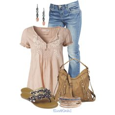 Untitled #301 by elizawashi1 on Polyvore featuring Wet Seal, Capelli New York, Nine West, NAKAMOL and Stella & Dot