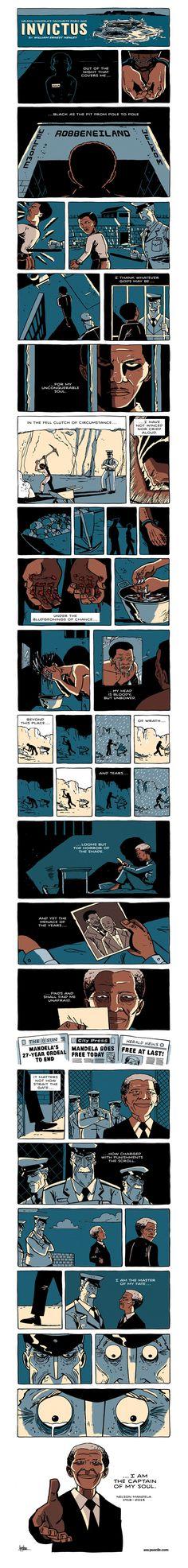 a comic tribute to nelson mandela