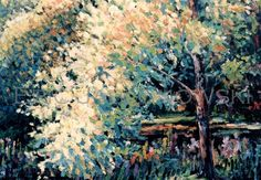 Fuzzy Tree Painting