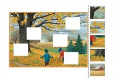 Find missing piece activities for kids Picture Puzzles, Classroom Crafts, Missing Piece, Fine Motor Skills, Preschool Activities, Kids And Parenting, Halloween Crafts, Seasons, Quilts