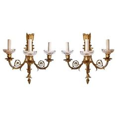 Check out this item at One Kings Lane! Louis XVI-Style Sconces, Pair