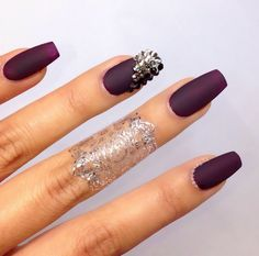 Purple and sparkle!