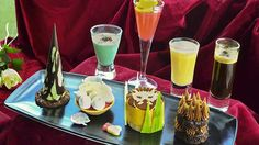 Try an unusual twist on the traditional afternoon tea menu with our Theatre themed experience, 'Not Afternoon Tea'. Available daily at OXO Tower Brasserie. Afternoon Tea London, Best Afternoon Tea, British Traditions, Mini Sandwiches, Tower Of London, Lunches And Dinners, Food Design, High Tea, Food Plating