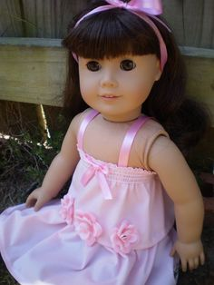 American Girl Doll Clothes Handmade Baby by sassydollcreations