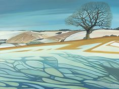 Ridgeway landscapes from the UK by Anna Dillon