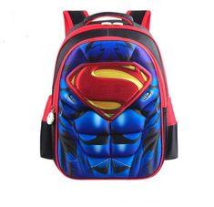 Superheroes Student Backpacks