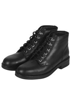 ALPHA Lace Up Boots