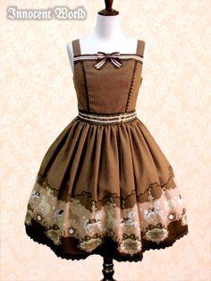 Innocent World メリーゴーラウンドジャンパースカート