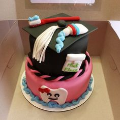 dental assistant graduation cakes