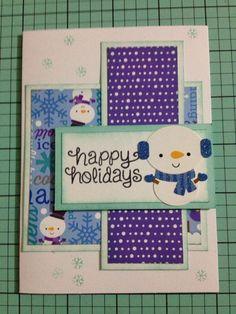 Christmas Cards Doodlebug Frosty Friends