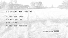 La vuelta del soldado Outdoor, Poems, Black And White, Outdoors, Outdoor Games, The Great Outdoors