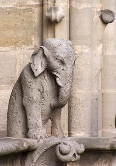 Elephant Gargoyle - Notre Dame de Paris by jd1