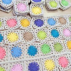 Spring Blanket Crochet pattern