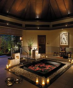 Does your dream home include a spa bath like this?  #spabath #zen #serenity #dreamhomes #realestate