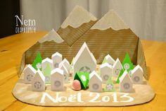 - DIY - Le village de l'avent 2013