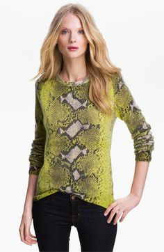 Equipment 'Sloan' Crewneck Cashmere Sweater - I kinda wish it was in more natural colors though...but super fun cashmere