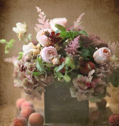 Wild-peach-bouquet
