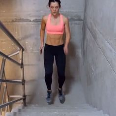 Booty cardio on the stairs Tag someone you would try this with! Perform 4 sets of 20 reps each exercise #fit #fitness #health #fitcoteam IG | @achieving_balance