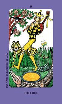 0. The Fool:  Jolanda Tarot