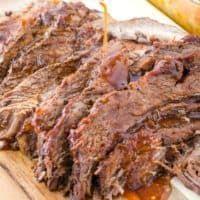 Beef Brisket Slow Cooker, Bbq Beef Brisket Recipe, Bbq Brisket, Crock Pot Brisket, Baked Brisket, Bbq Ribs, Roast Beef, Taco Dip, Jerk Chicken