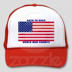 Undisputed world war champions hat    http://www.zazzle.com/?rf=238537385650312359