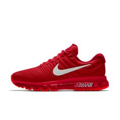 meet d43f6 2af26 Nike Air Max 2017 iD Deep Red White Shoes 2017 very good products, men and  women are very suitable, you are welcome to join.