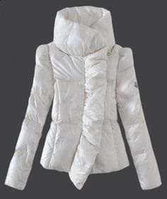 Special Price : $279.99 - 2013 New! Moncler Euramerican Style Down Jackets Womens White
