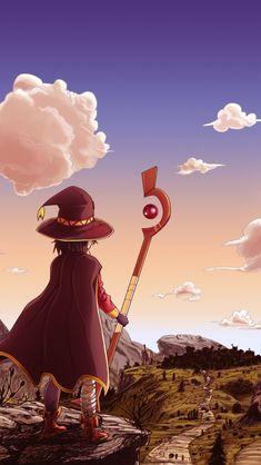 Otaku Anime, Konosuba Anime, Chica Anime Manga, Kawaii Anime, Anime Art, Konosuba Wallpaper, Wallpaper Animes, Cute Anime Wallpaper, Wallpaper Quotes