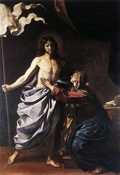 Guercino, Apparizione di Cristo alla Madre, Cento, Pinacoteca, 1629.