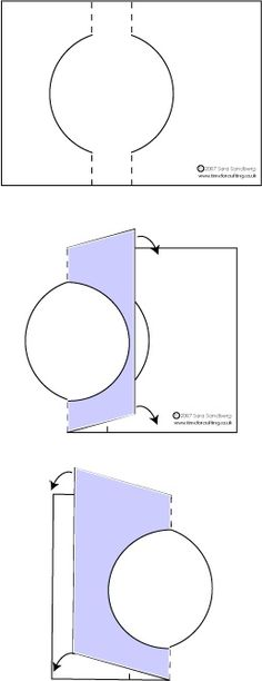 Enjoy this free Swing Card project! Have fun with our free cardmaking templates and clear step by step instructions. 3d Templates, Card Making Templates, Card Making Tips, Card Making Tutorials, Card Making Techniques, Fancy Fold Cards, Folded Cards, Kirigami, Swing Card