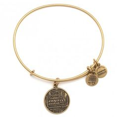 Positive is How I Live - 20% of all Alex and Ani sales from the Positive Is How I Live Charm, with a minimum donation of $20,000, will go directly to the Joe Andruzzi Foundation to provide help, hope, and a reason to smile for cancer patients and their families by contributing financial and emotional support when it is needed.
